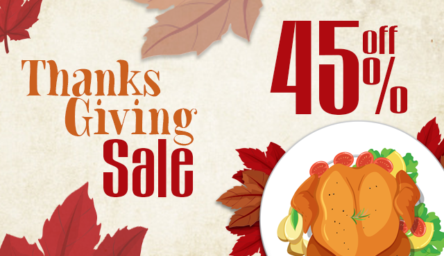 Thanksgiving Offers Discount code